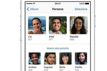 Come taggare le persone nelle foto sull'iPhone