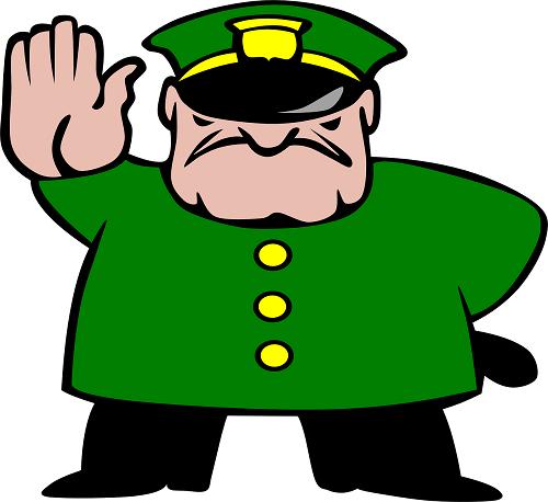 Ingiuria contro vigili, ufficiali giudiziari e altre forze dell'ordine