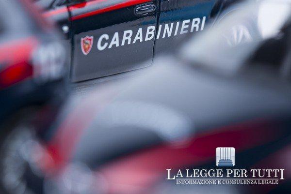 Carabinieri: quando chiamare?