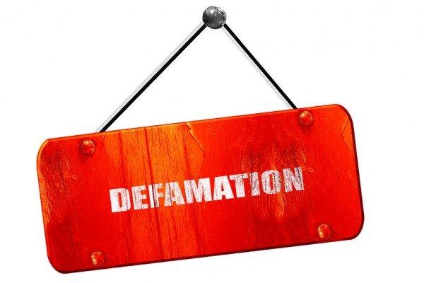 Condanna per diffamazione