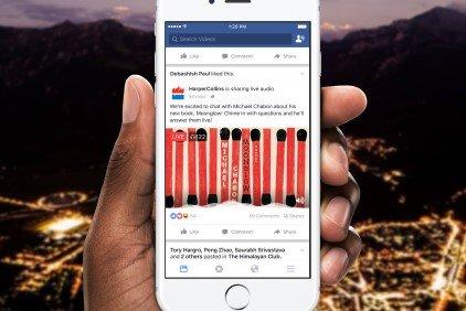 Nuovo pericolo per la privacy con la funzione Live Audio di Facebook