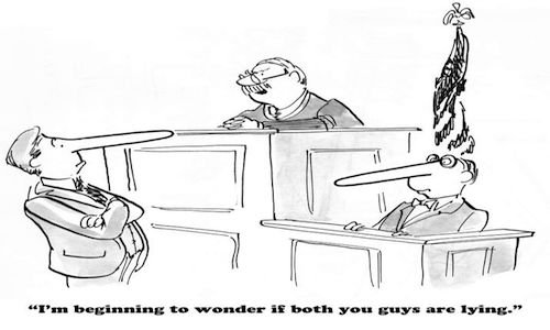 Che succede se un testimone non si presenta in udienza?