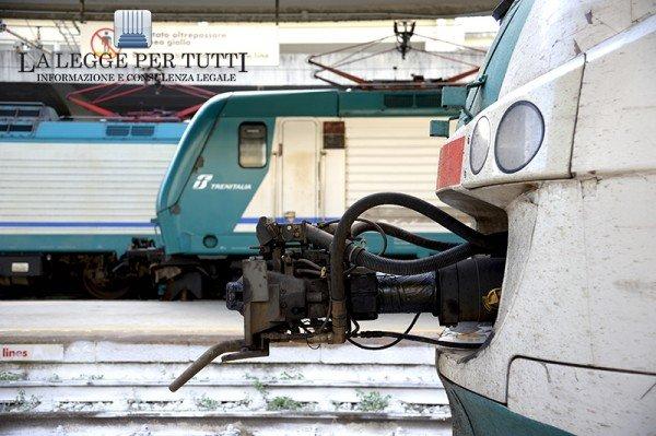 Risarcimento per incidente in stazione dei treni