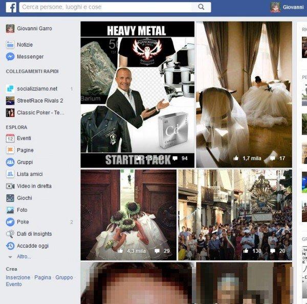 Uso dei dati personali pubblicati su Facebook