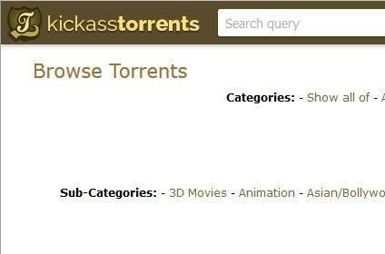 KickassTorrents torna online