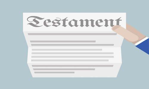 Per fare un testamento ci vogliono testimoni?