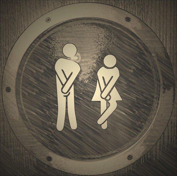 Posso andare nel bagno di un bar senza pagare consumazione?