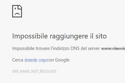 Fastweb blocca l'accesso ad alcuni siti, ecco la soluzione