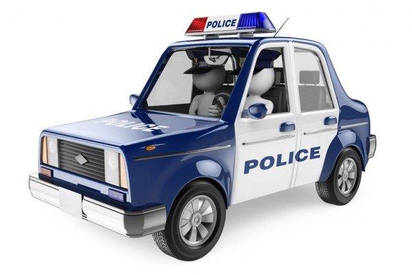 La polizia stradale può perquisire la mia auto?