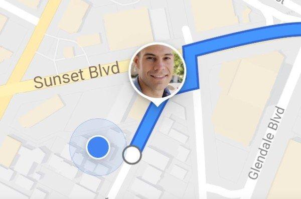 Come tracciare la posizione di qualcuno in Google Maps