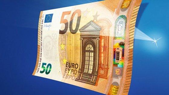 Arriva la nuova banconota da 50 euro: ecco come sarà
