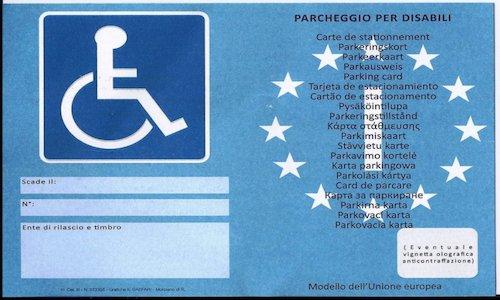 Invalidi, obbligatorio pagare il parcheggio