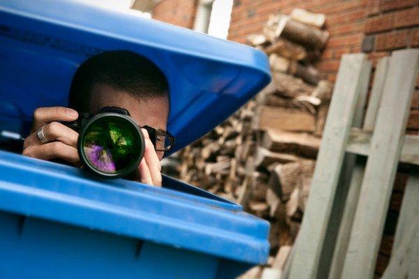 Si può fotografare un vicino di casa?
