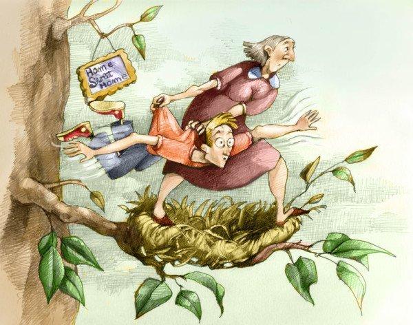 I genitori possono cacciare fuori di casa il figlio?