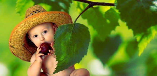 I diritti dei bambini sull'alimentazione