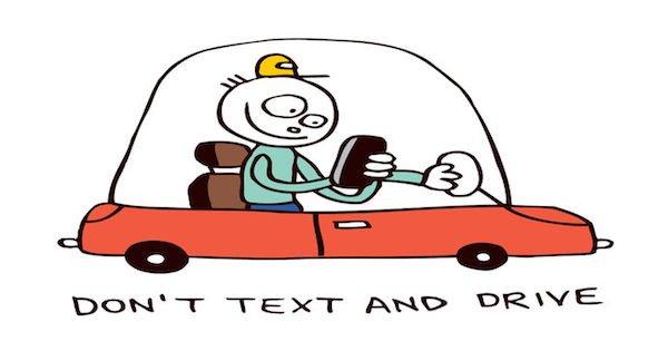 Scrivere sullo smartphone alla guida: che rischio?
