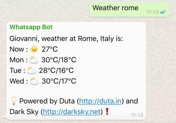 Come usare WhatsApp come motore di ricerca