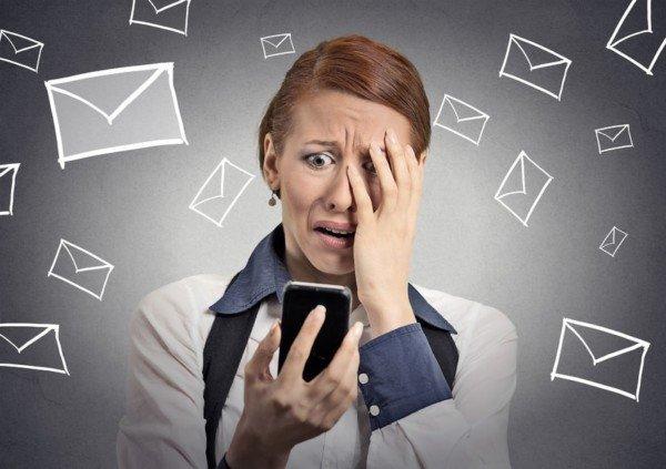 Danno da spam: nessun diritto al risarcimento