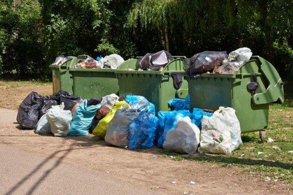 Abbandoni rifiuti vicino al cassonetto: cosa si rischia?