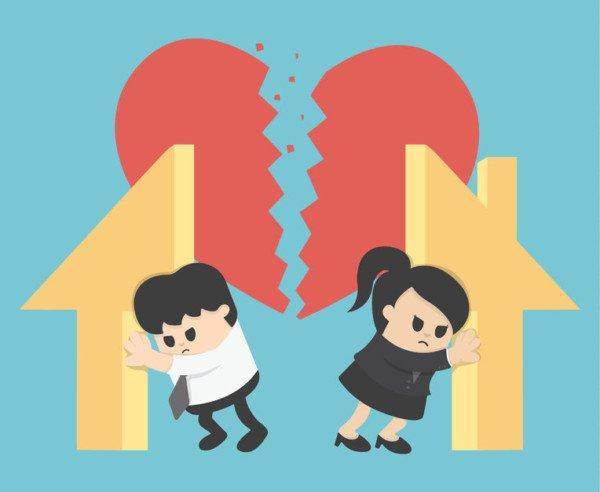 Si pu vivere da separati nella stessa casa for Case con alloggi separati