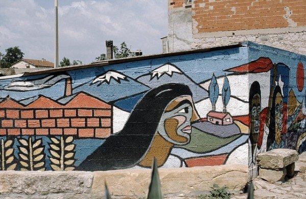 Murales, arte moderna o vandalismo?
