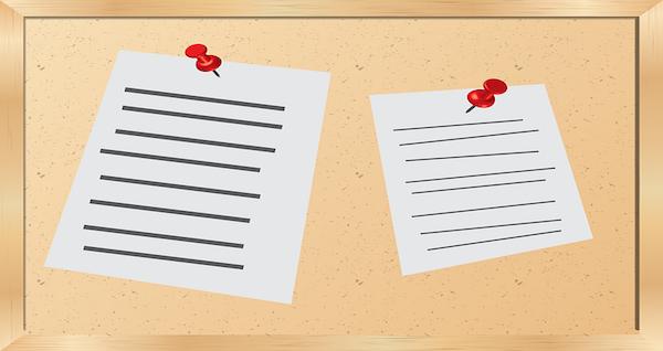 Bacheca di condominio: cosa vi si può scrivere?