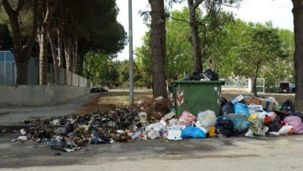 Cassonetto spazzatura pieno o incendiato: spetta un risarcimento?
