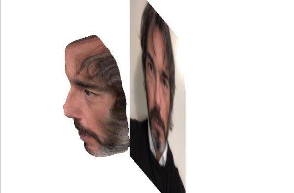 Come trasformare un selfie in un'immagine 3D