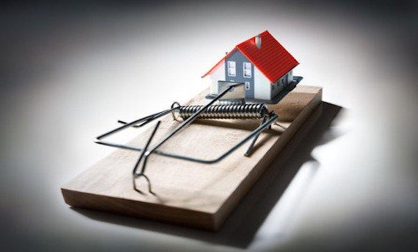 cartelle non pagate: i rischi per la casa