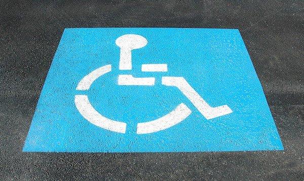 Parcheggio disabili vicino a casa