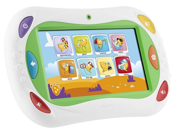 I migliori smartphone e tablet per bambini for Happy tab chicco microfono