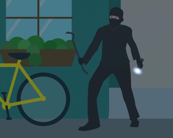 Da dove entrano i ladri in casa