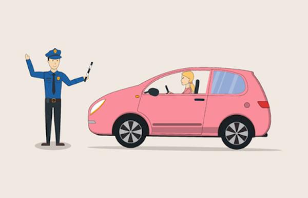 Come fare se l'ex prende una multa con la mia auto e non paga?