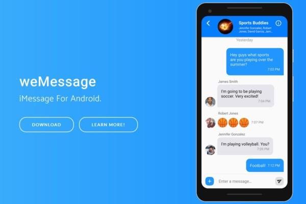 Usare iMessage dell'iPhone anche su Android