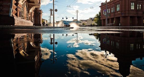 Auto in pozza d'acqua: per l'incidente chi è responsabile?