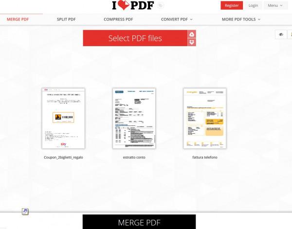 Come unire due pdf in un unico file - Unire diversi pdf ...