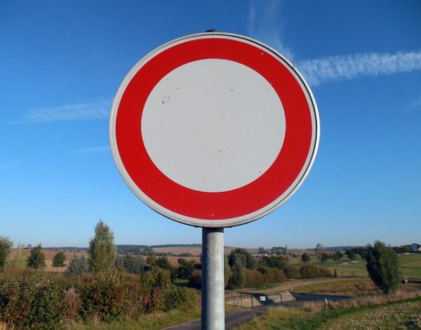 Cartelli stradali senza ordinanza sindacale