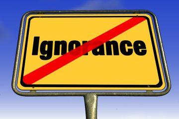 È vero che la legge non ammette ignoranza?