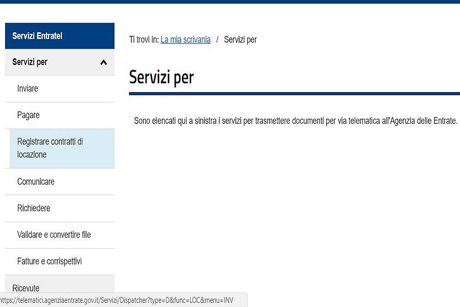 Come Registrare Il Contratto D Affitto Online