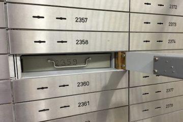 Arriva il prelievo sui contanti nelle cassette di sicurezza