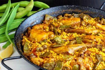 Ricetta della paella valenciana