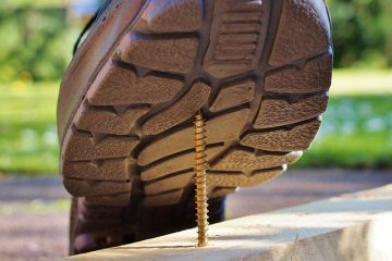 esonero uso scarpe antinfortunistiche