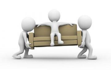 Residenza come ospite e pignoramento