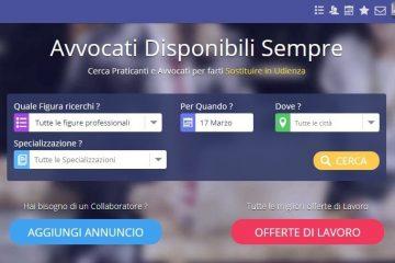 Lawe: la prima piattaforma online per avvocati