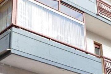 Come chiudere un balcone senza permessi