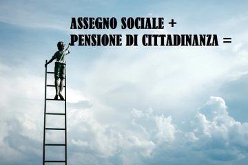 Assegno sociale 2019: quanto aumenta con la pensione di cittadinanza?