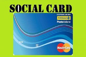 Reddito di cittadinanza: assegno o social card?