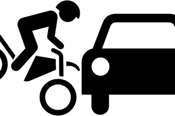 Incidente tra bicicletta e automobile
