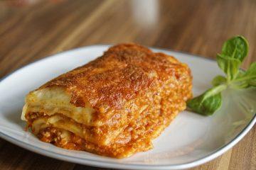 Lasagna : la vera ricetta per farla in casa