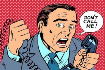 Telefonata oscena o volgare: è reato?